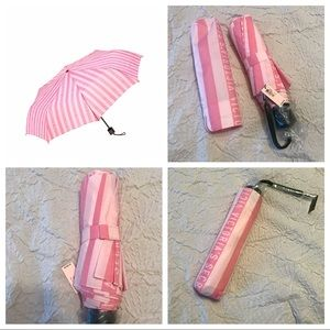 Victoria Secret Stripped Umbrella NWT